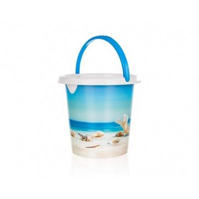 BRILANZ Kbelík plastový SEA 5 l, 21,5 x 23 cm