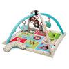 Skip Hop Deka hrací s hrazdičkami ABC Zoo 0m+