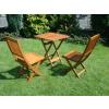 Dřevěný zahradní nábytek: sestava Mirador