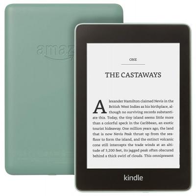 "Amazon Kindle PAPERWHITE 4 zelená Čtečka elektronických knih, 6"" E-ink displej, 8GB, IPX8, Wi-Fi, SPONZOROVANÁ VERZE, zelená B08412B9N5"