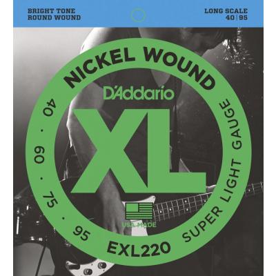 D'Addario EXL220 Super Light - .040 - .095