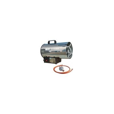 GUDE GGH 10 Inox plynový přímotop obj.č. 85005