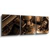 Obraz 3D třídílný - 150 x 50 cm - Vintage still-life, obraz třídílný 3D, obraz 3D, třídílný obraz, 3d obraz - DOPRAVA ZDARMA
