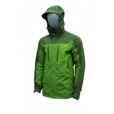 Pinguin bunda Parker, zelená (nepromokavá bunda delšího střihu)
