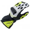 MBW rukavice MIKE black/white/yellow - S