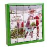 ETS Adventní kalendář - Radostné Vánoce, 25 pyramidek (Čajový adventní kalendář.)