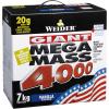 Weider Giant Mega Mass 4000 3000 g vanilka