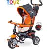 Tříkolka Toyz Timmy 2017 orange (Tříkolka otočná dětská se stříškou)