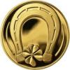 Medaile štěstí Au