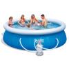 Nadzemní bazén BESTWAY 305 x 76 cm s pískovou filtrací (Nadzemní prstencový bazén - nadzemní prstencový bazén BESTWAY 305 x 76 cm s pískovou filtrací)