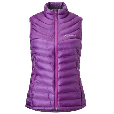 Montane vesta Womens Featherlite Down Vest, Dahlia (Ultralehká péřová vesta)