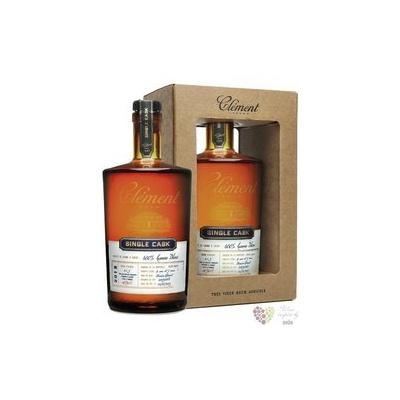 """Clément agricole tres vieux """" Single Cask Canne bleue """" 2015 rum of Martinique 41.3% vol. 0.5 l"""