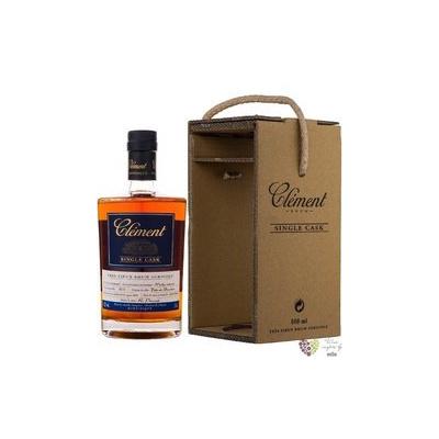 """Clément agricole tres vieux """" Single Cask Moka Intense """" 2014 Martinique rum 41.7% vol. 0.5 l"""