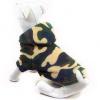 Maskáčová fleecová mikina pre psa, XXL SHOPAKVA