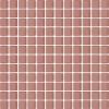 Ceramika Paradyz Uniwersalna mozaika szklana praline - obkládačka mozaika 29,8x29,8 růžová 124514 Sorenta