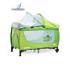 Dětská cestovní postýlka CARETERO Grande green