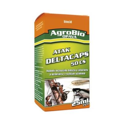 Hubení štěnic - postřik (ATAK DELTACAPS - koncentrát určený pro postřik na hubení hmyzu při sanitární hygieně: štěnic, švábů, much, komárů, rusů, mravenců, mravenců faraónů, rybenek apod. Přípravek se
