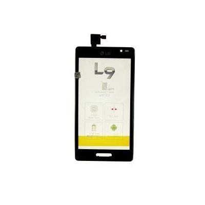 Dotyková deska LG Optimus L9 P760 black + přední kryt