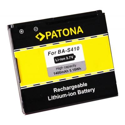 Baterie PATONA kompatibilní s HTC BA-S410 Baterie, pro mobilní telefony HTC Bravo, Desire, Dragon, G5, Nexus One, Zoom 2, A8181, Google Nexus One, 1400mAh, 3,7V, Li-Ion PT3117