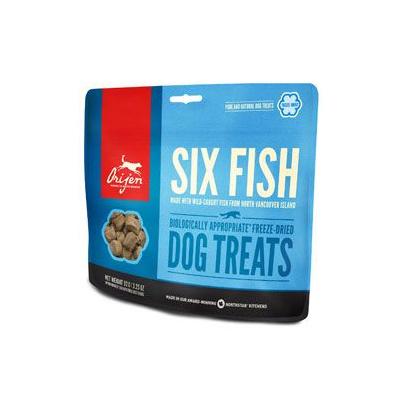 Orijen Dog pochoutka F-D Six Fish Treats 92g 91770