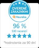 Heureka.sk - overené hodnotenie obchodu VALSESIA