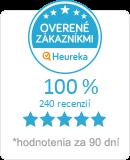 Heureka.sk - overené hodnotenie obchodu MAVASAT