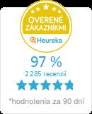 Heureka.sk - overené hodnotenie obchodu Top-obaly.sk