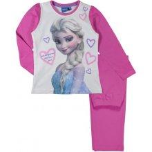 E plus M Dievčenské pyžamo Frozen ružové