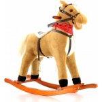 EURO BABY Hojdací koník sv. hnedý