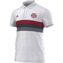 Adidas FC Bayern Mnichov Polo White