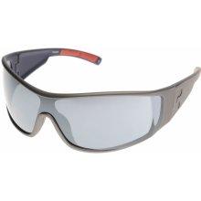 Reebok Wraparound Sunglasses Mens Blue/Smke Slvr 240888 N