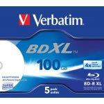 Verbatim BD-R 100GB 4x, 5ks