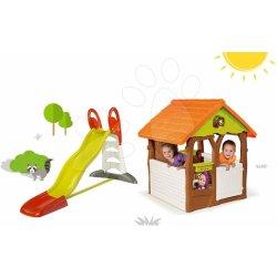 smoby 310261 7 set myk avka toboggan xl s vodou a dom ek. Black Bedroom Furniture Sets. Home Design Ideas