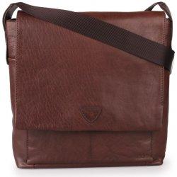 ae1a5219c Joop! pánská kožená taška přes rameno Brenta Belos 4140003467-702 hnědá