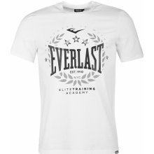 Everlast Logo T Shirt Mens White Laurel