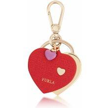 Prívesok na kľúče a koženú kabelku Furla Venus Ruby ozdobný kožený prívesok  979269 29511e6e696