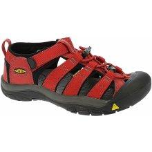 04e2f770024 KEEN Detské sandále Newport H2 Ribbon Red Gargoyle