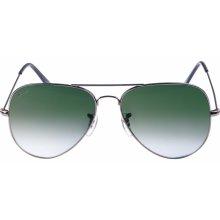 Urban Classics Sunglasses PureAv Youth gun/green