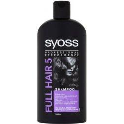 18d9173857 Syoss Full Hair 5 vlasový šampón pro plnost a objem 500 ml od 2