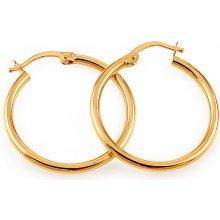 iZlato Design zlaté náušnice kruhy hladké IZ8741Y cc73b116286