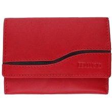 e66386e362 Bellugio Dámska kožená peňaženka červená U016RE U016RE