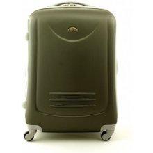 Suitcase 611 cestovný kufor veľký 54x34x76 cm Ocelová b549ddaa302