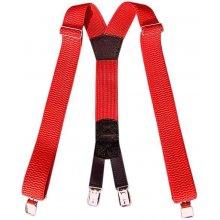 Traky na nohavice červené