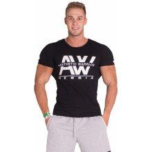 422d5dfa5209 Nebbia Pánske tričko AW TOP 127 čierne
