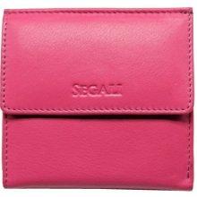 Segali Dámska kožená peňaženka SG-60337 ružová 30bbe41c1be