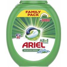 Ariel Mountain Spring 3v1 gélové kapsuly 80 ks