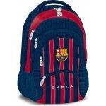 ARS UNA FC Barcelona stripe trojkomorový batoh