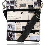 Dara Bags kabelka Dariana middle No. 1253 I Love Paris