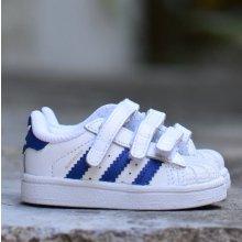 Adidas Originals SUPERSTAR FOUNDATION CF I Detské topánky S74946 biela 5b1a2943d17