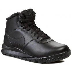 NIKE -Hoodland leather Black/black-anthracite, Čierna
